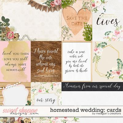 Homestead Wedding: Cards by Meagan's Creations