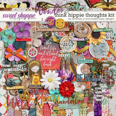 Think Hippie Thoughts by Amanda Yi & Studio Basic Designs