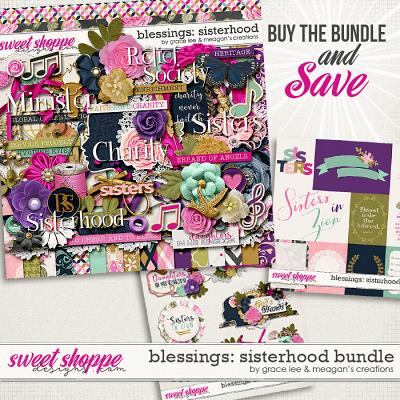 Blessings: Sisterhood Bundle by Grace Lee and Meagan's Creations
