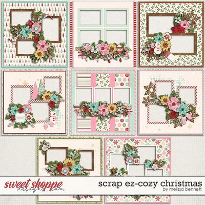 Scrap EZ-Cozy Christmas by Melissa Bennett