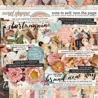 Note To Self: Turn The Page Kit by Kristin Cronin-Barrow & Studio Basic
