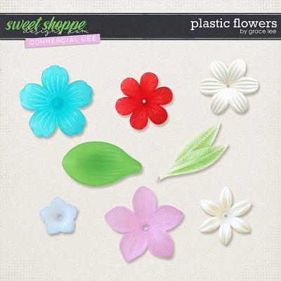 Plastic Flowers by Grace Lee