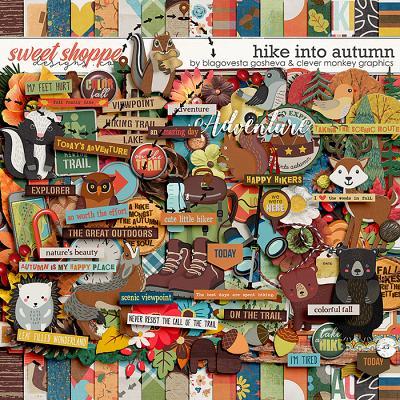 Hike into Autumn by Blagovesta Gosheva & Clever Monkey Graphics