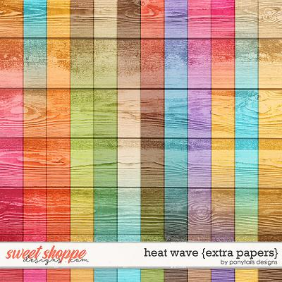Heat Wave Extra Papers by Ponytails