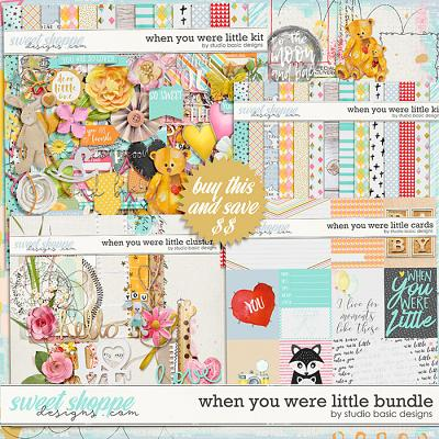 When You Were Little Bundle by Studio Basic