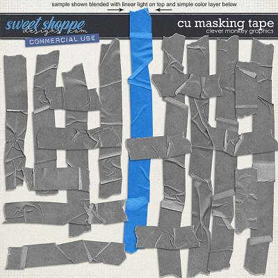 CU Masking Tape by Clever Monkey Graphics