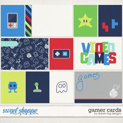 Gamer Cards by Dream Big Designs