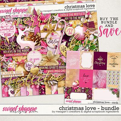 Christmas Love:Bundle by Digital Scrapbook Ingredients and Meagan's Creations
