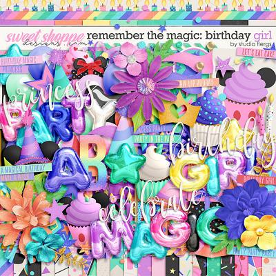 Remember the Magic: MAGICAL BIRTHDAY GIRL by Studio Flergs