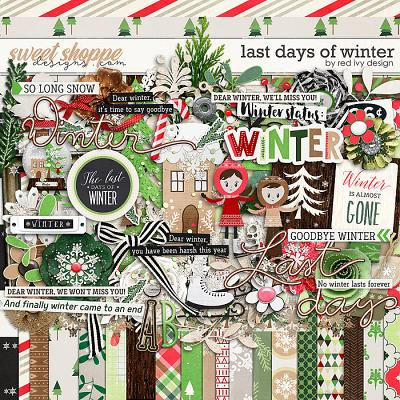 Last Days of Winter by Red Ivy Design