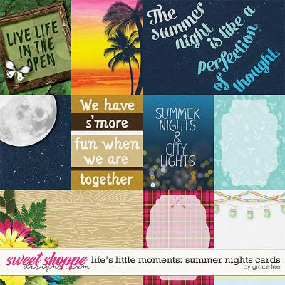 Life's Little Moments Summer Nights: Cards by Grace Lee