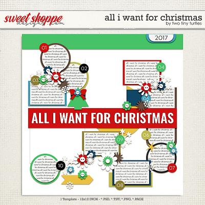 All I Want For Christmas by Two Tiny Turtles
