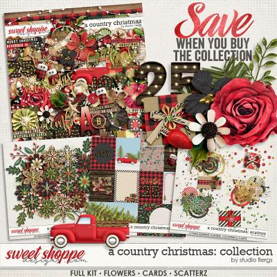 A Country Christmas: COLLECTION & *FWP* by Studio Flergs