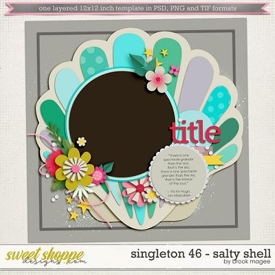 Brook's Templates - Singleton 46 - Salty Shell by Brook Magee