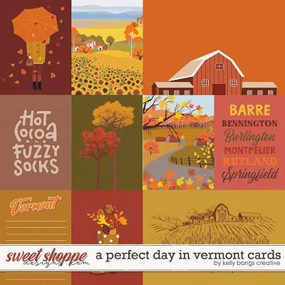 A Perfect Day in Vermont Cards by Kelly Bangs Creative