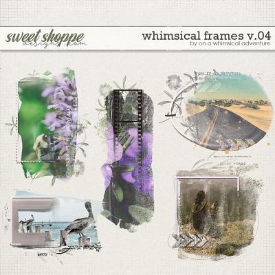 Whimsical Frames v.4 - Wanderlust by On A Whimsical Adventure
