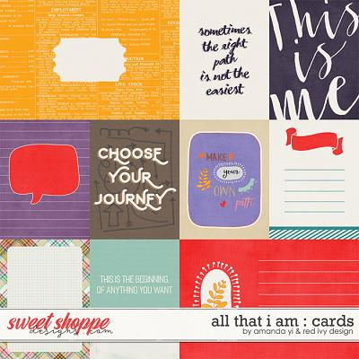 All That I Am - Cards - by Amanda Yi & Red Ivy Design