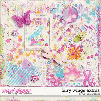Fairy Wings Extras by River Rose Designs
