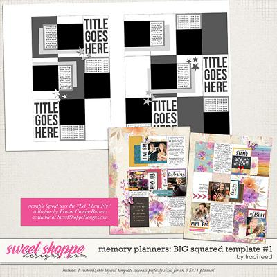 Memory Planners - Big - Squared #1 by Traci Reed
