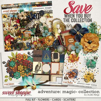 Adventure: Magic- COLLECTION & *FWP* by Studio Flergs