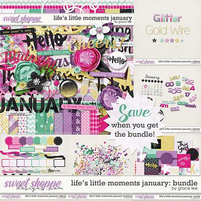 Life's Little Moments January Bundle by Grace Lee