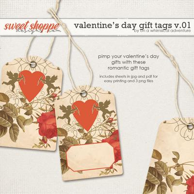 The Valentine's Day Gift Tags by On A Whimsical Adventure