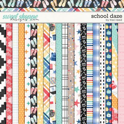 School Daze Papers by Traci Reed
