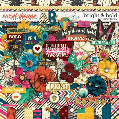 Bright & Bold Kit by Sugary Fancy