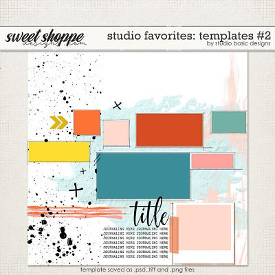Studio Favorites: Templates #2 by Studio Basic
