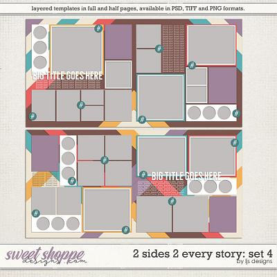 2 Sides 2 Every Story: Set 4 by LJS Designs