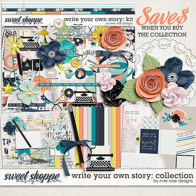 Write Your Own Story: Collection by River Rose Designs