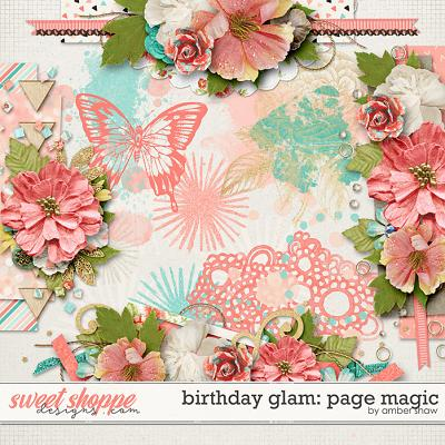 Birthday Glam: Page Magic by Amber Shaw