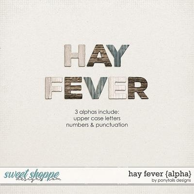 Hay Fever Alphas by Ponytails