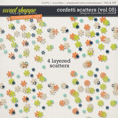 Confetti Scatters {Vol 05} by Christine Mortimer