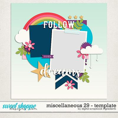 Miscellaneous 29 Template by Digital Scrapbook Ingredients