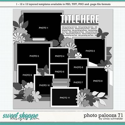 Cindy's Layered Templates - Photo Palooza 71 by Cindy Schneider