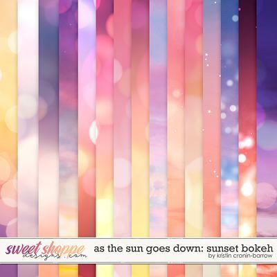 As the Sun Goes Down: Sunset Bokeh by Kristin Cronin-Barrow