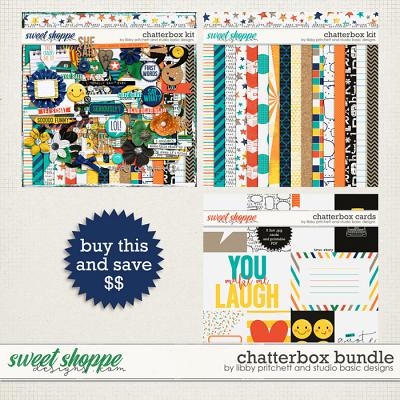 Chatterbox Bundle by Studio Basic Designs & Libby Pritchett