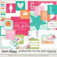 Pocket Life: For The Girls Squares by Traci Reed