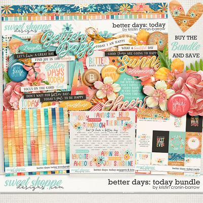 Better Days: Today Bundle by Kristin Cronin-Barrow