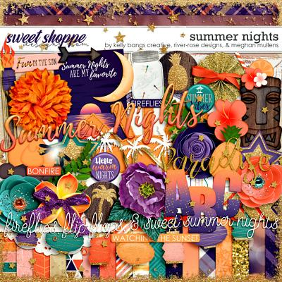 DUO 2 - Summer Nights by Kelly Bangs Creative, River Rose Designs, & Meghan Mullens