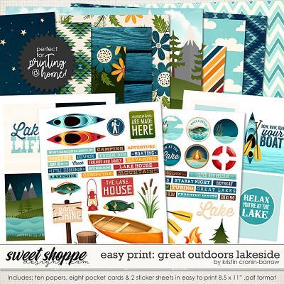 Easy Print: Great Outdoors Lakeside by Kristin Cronin-Barrow