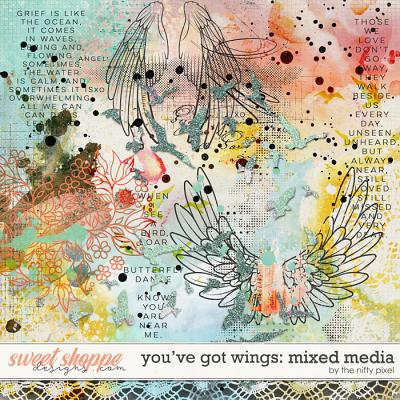 YOU'VE GOT WINGS | ARTSY by The Nifty Pixel