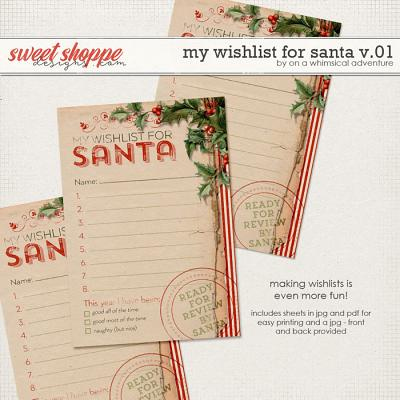 My Wishlist For Santa by On A Whimsical Adventure