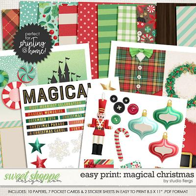Remember the Magic: MAGICAL CHRISTMAS- EZPRINT by Studio Flergs