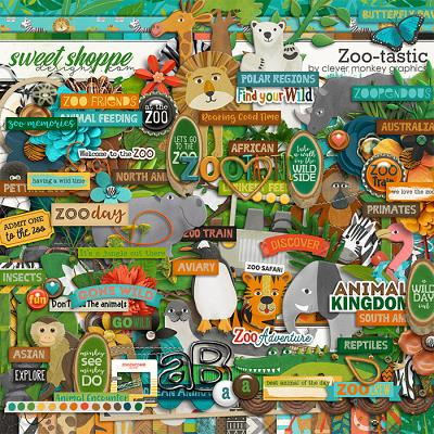 Zoo-tastic by Clever Monkey Graphics