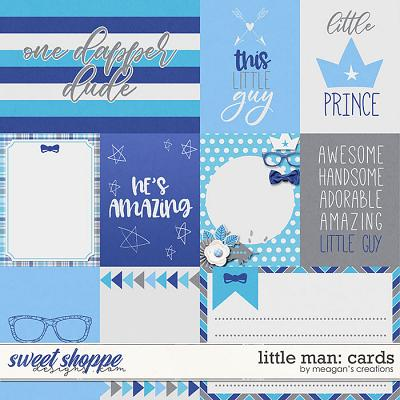 Little Man: Cards by Meagan's Creations