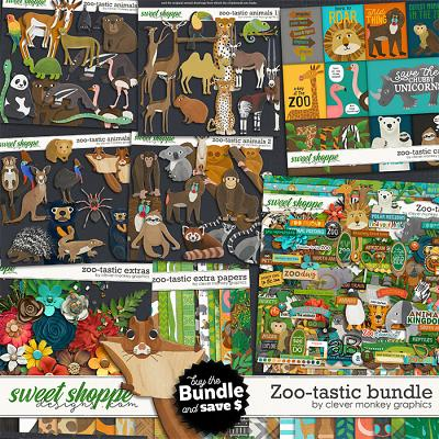 Zoo-tastic Bundle by Clever Monkey Graphics