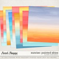 Sunrise: Painted Skies by Kristin Cronin-Barrow