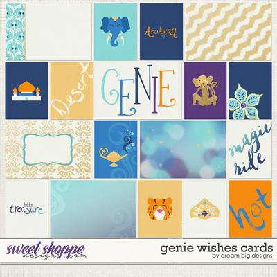 Genie Wishes Cards by Dream Big Designs
